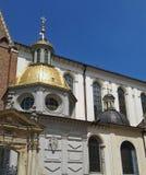 Sigismund's Chapel & Wawel Cathedral Entrance Gate in Krakow, Poland Stock Photo