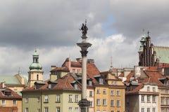Sigismund's Column Royalty Free Stock Image