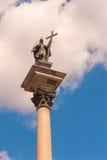 Sigismund's Column Royalty Free Stock Images