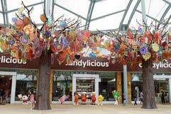 Süßigkeits-Shop, Singapur Stockbild
