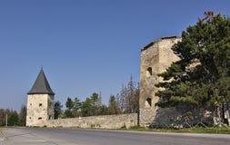Siglo de Kontskih XVII del castillo Fotografía de archivo libre de regalías