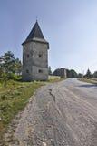Siglo de Kontskih XVII del castillo Fotografía de archivo