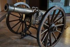 Siglo del arma XIX de la artillería Imagen de archivo libre de regalías