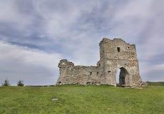 Siglo del castillo XII-XVI de Kremenetsky Fotografía de archivo libre de regalías