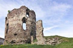 Siglo del castillo XIV-XVI de Buchach Imagenes de archivo