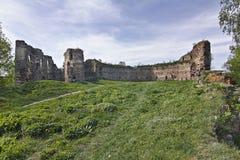 Siglo del castillo XIV-XVI de Buchach Imagen de archivo libre de regalías