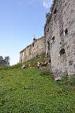 Siglo del castillo XIV-XVII de Yazlivetsky Foto de archivo