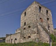 Siglo del castillo XVII de Golskih Fotografía de archivo