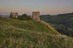 Siglo del castillo XVII de Kudryntsi Fotografía de archivo