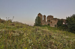 Siglo del castillo XVII de Kudryntsi Fotos de archivo libres de regalías