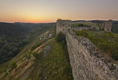 Siglo del castillo XVII de Kudryntsi Imagen de archivo