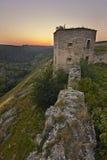 Siglo del castillo XVII de Kudryntsi Foto de archivo libre de regalías