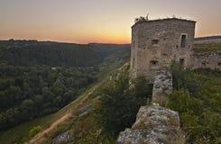 Siglo del castillo XVII de Kudryntsi Fotos de archivo