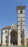 Siglo XI de piedra de la iglesia Fotografía de archivo