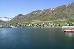 Siglufjödur Iceland Fotografia Stock