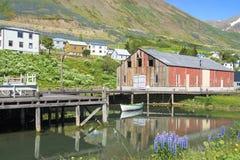 Siglufjördur Iceland Obraz Royalty Free