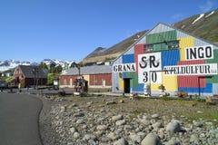 Siglufjördur Iceland, Herring Museum Royalty Free Stock Photos