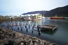 Siglufjordur, Islanda del Nord Immagini Stock