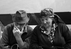 παππούδες και γιαγιάδε&sigm Στοκ Εικόνες