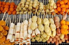 πρόχειρα φαγητά της Μαλαι&sigm Στοκ φωτογραφία με δικαίωμα ελεύθερης χρήσης