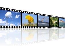 κινηματογράφος ανασκόπη&sigm Στοκ Εικόνα