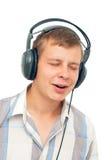 ακούει μουσική ατόμων τι&sigma Στοκ Φωτογραφία