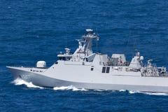 SIGMA-Klasse Korvette KRI Iskandar Muda 367, die der indonesischen nationalen Armee-Marine in Sydney Harbor geh?rt stockfotos