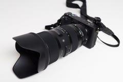 Sigma 18-35 1 8 lens dichte omhooggaand stock afbeelding