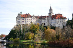 Sigmaringen Castle. View of the Sigmaringen Castle at autumn time, Baden-Wuerttemberg, Germany Royalty Free Stock Photography