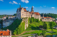 Sigmaringen Castle, Baden Wurttemberg, Germany stock photography