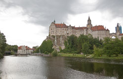 Sigmaringen Castle and Donau Royalty Free Stock Photo