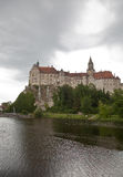 Sigmaringen Castle and Donau Royalty Free Stock Images