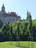Sigmaringen Castle Royalty Free Stock Photo