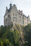 Sigmaringen - Germany. Sigmaringen, Germany - October 2, 2013: Sigmaringen Castle was the princely castle and seat of government for the Princes of Hohenzollern Stock Images