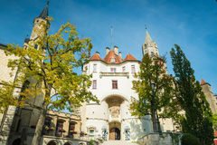 Sigmaringen - Germany. Sigmaringen, Germany - October 2, 2013: Main Gateway of the Sigmaringen Castle Royalty Free Stock Photos