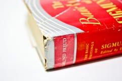 Sigmund Freud--Libro Fotografie Stock