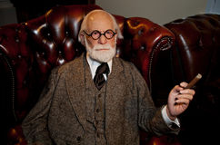 Sigmund Freud Wax Figure Stock Photography