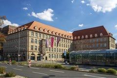 Sigmund Schuckert house in Nuremberg, Germany, 2015 Royalty Free Stock Images