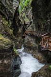 Sigmund Thun Glen 3, Kaprun, Austria Royalty Free Stock Photo