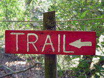 Sign. Pointing towards a direction stock photos
