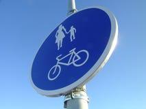 Sign. Road sign taken in Estonia- Keila royalty free stock photography