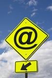 Sign @ (at) Royalty Free Stock Image