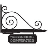 Sign Advertising Copywriter Royalty Free Stock Photo
