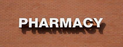 Pharmacy Services Sign. Stock Photos