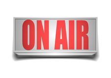 Sign on air Royalty Free Stock Photo