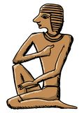 Sign from ancient Egypt Royalty Free Stock Images