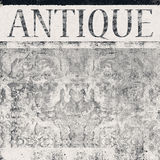 Sign antique, old background Royalty Free Stock Photography