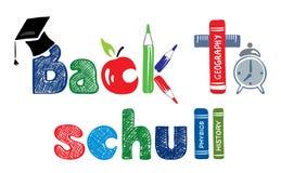Sign - Back to School. Vector illustration -- Sign Back to School stock illustration