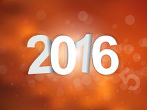 2016 sign background Royalty Free Stock Image