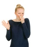 Sign of bad smell royalty free stock image